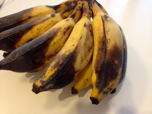 These old bananas are sweet like candy!