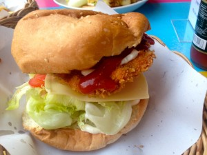 Fried Chicken Burger - delicious.
