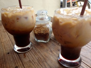Iced Lattes at Cafein