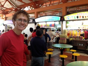 Hainanese Curry Rice Hawker Stall