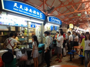 This is THE Hawker Stall to get Singapore's famous Chicken Rice dish!