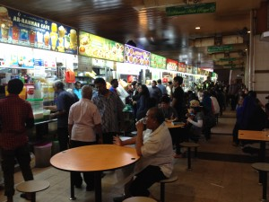 Hawker Stalls in the Tekka Centre (Little India, Singapore)