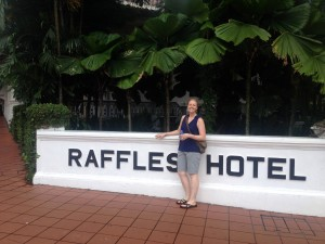 Raffles Hotel, home of the S$27 Singapore Sling!