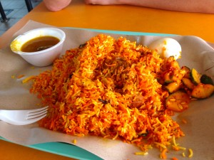 Mutton Nasi Biryani, also S$5.