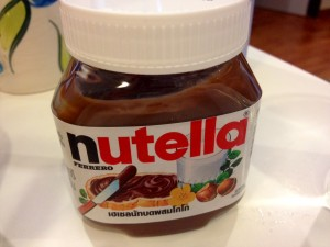Nutella is like Crack to me.  I may or may not finish this jar off with a spoon.