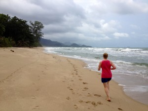 Morning Beach Run in Koh Chang