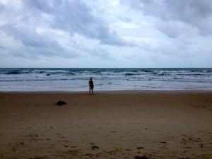 Heading into the Ocean
