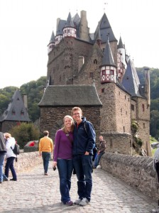 Fast Travel in Germany.  WE MUST SEE ALL THE CASTLES!