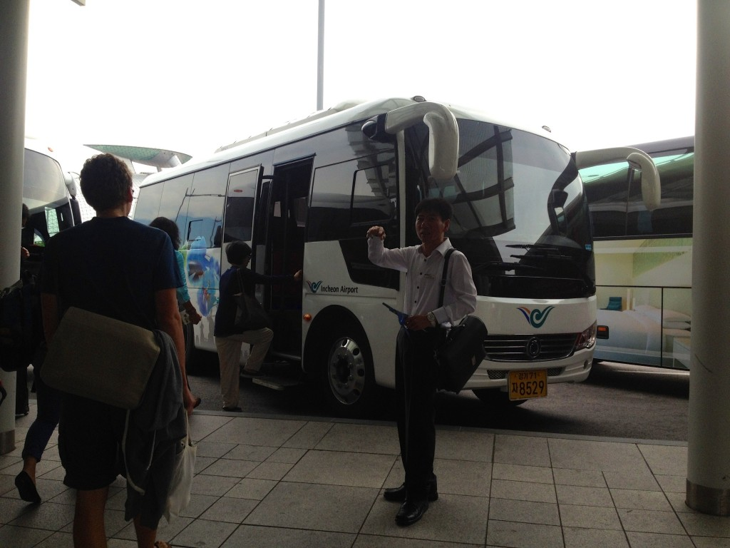 Our ICN Transit Tour Bus