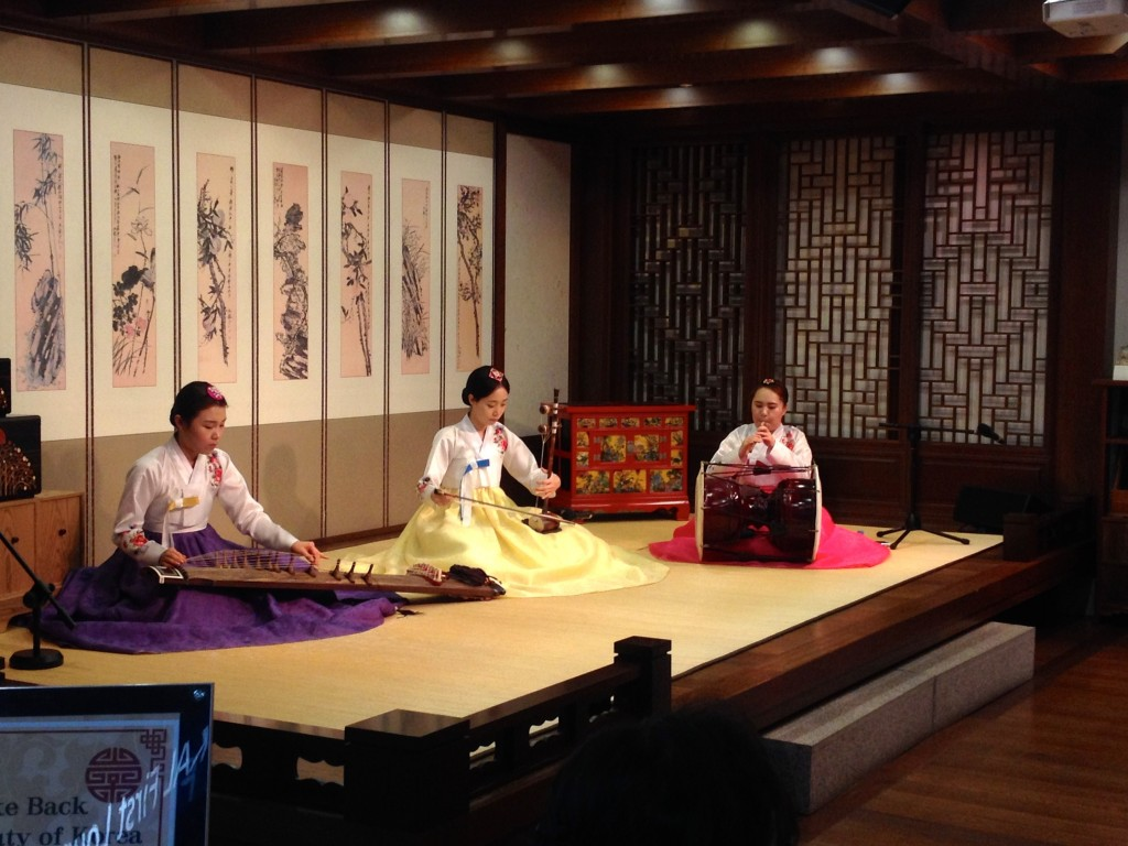 Traditional Musical Instrument performance at ICN Airport.