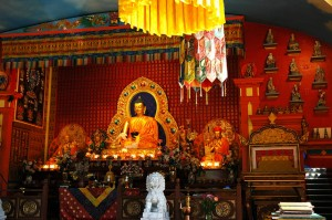 Beautiful, right?  This is the Sakya Temple in Seattle!