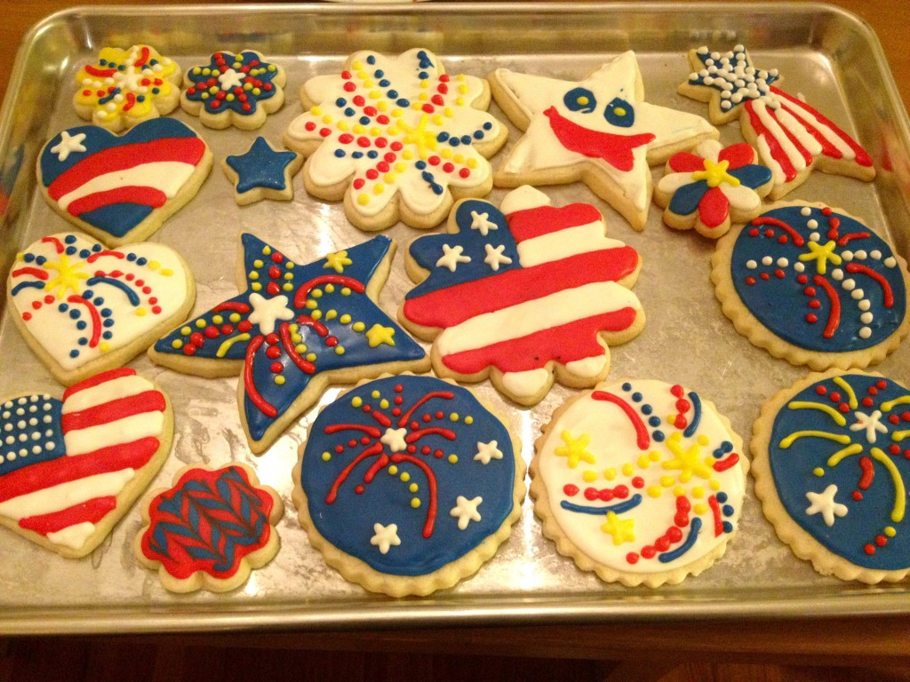 Proof of my over-festive tendencies on 4th of July.