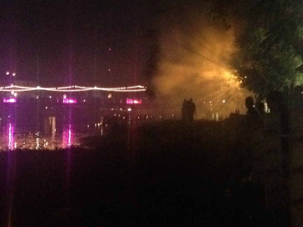 The smoke blanket that settled over Chiang Mai during Loy Krathong.