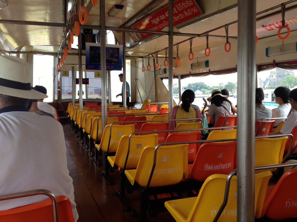 The Bangkok Tourist Water Taxi Boat