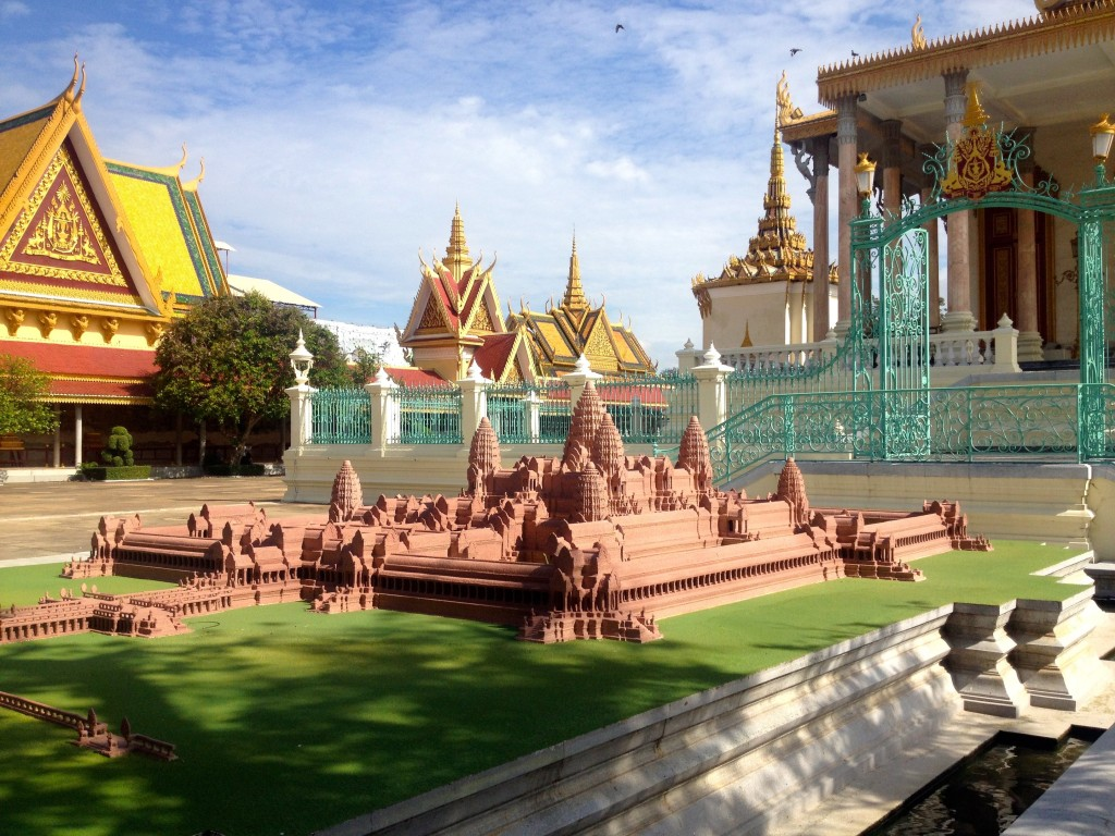 The Royal Palace Even Had a Miniature Replica of Angkor Wat