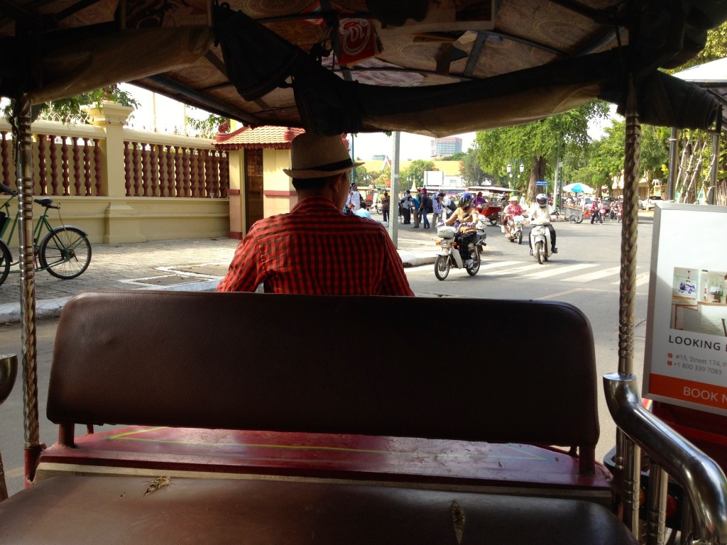 The View from our Tuk Tuk in Phnom Penh