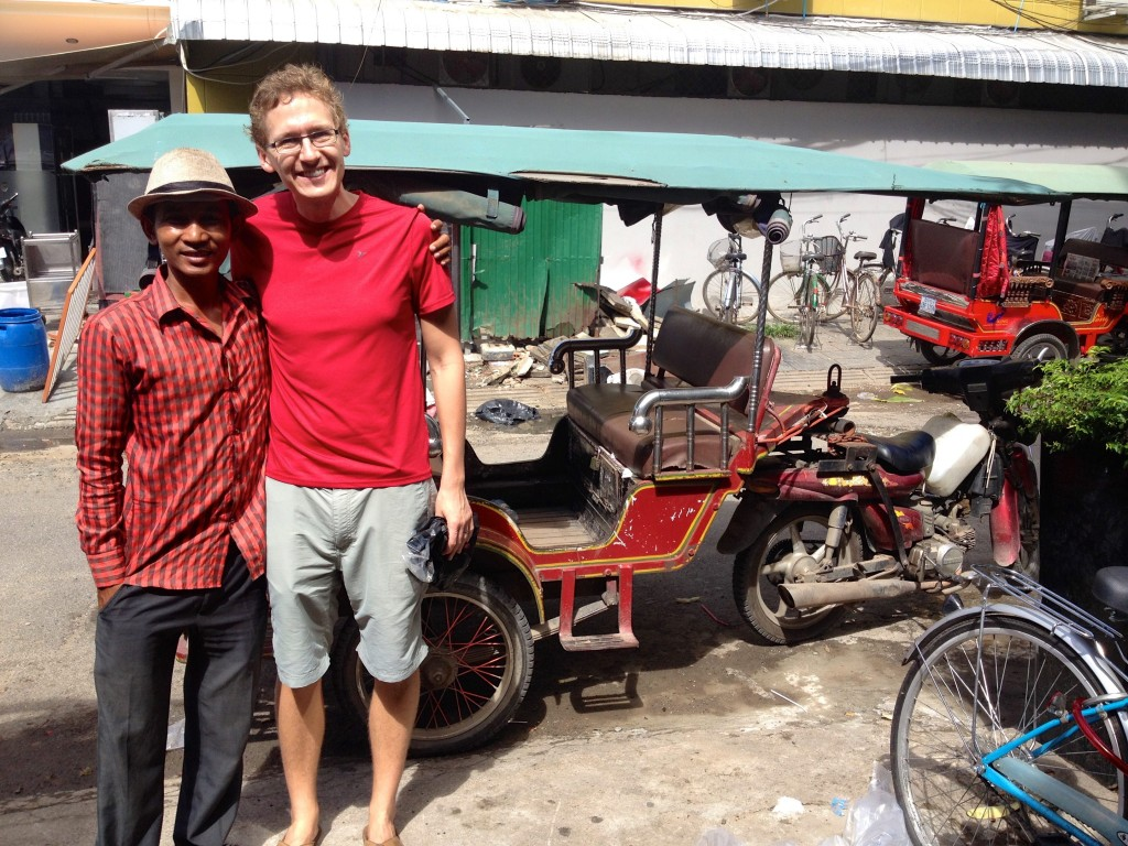 Safir, Our Tuk Tuk Driver. One of the Friendliest People You'll Meet in Phnom Penh