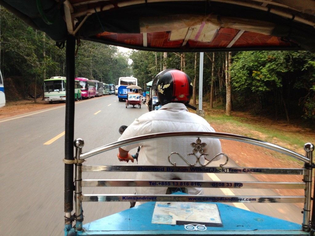 Tuk Tuks in Cambodia Are Cheap and Fun!