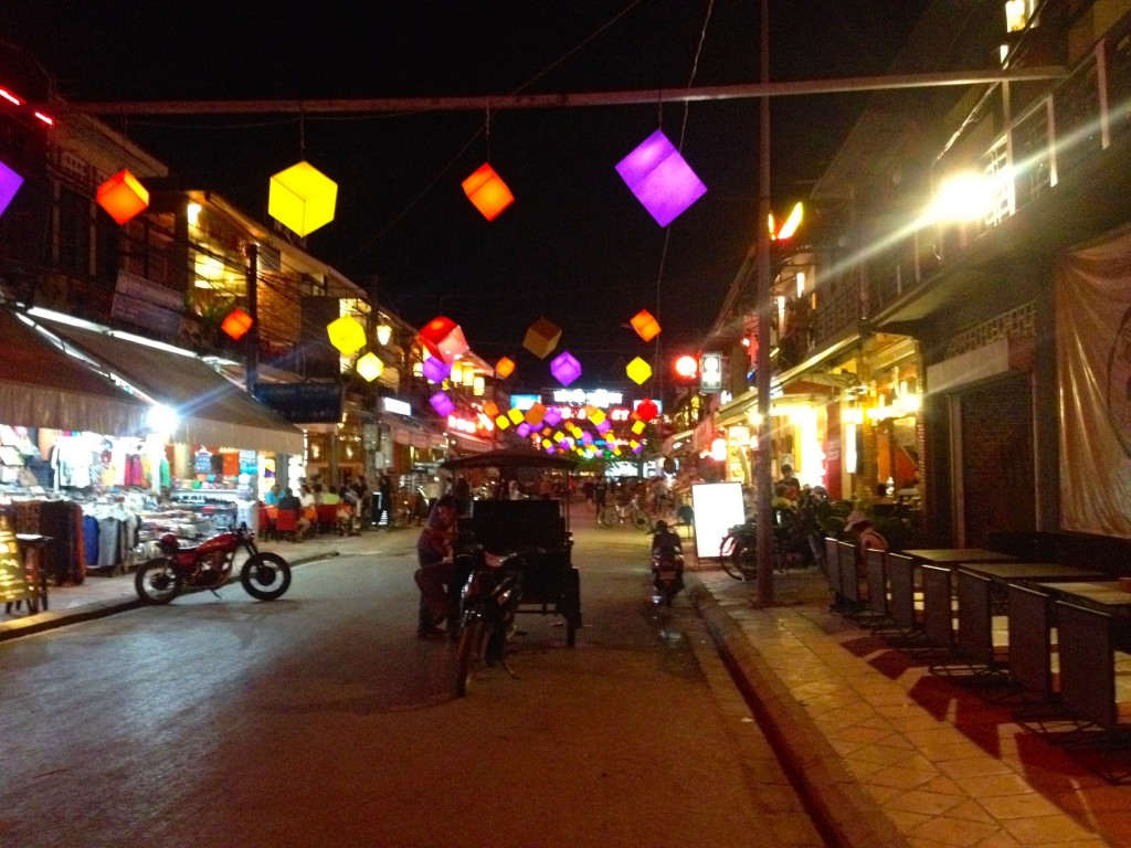 Pub Street in Downtown Siem Reap