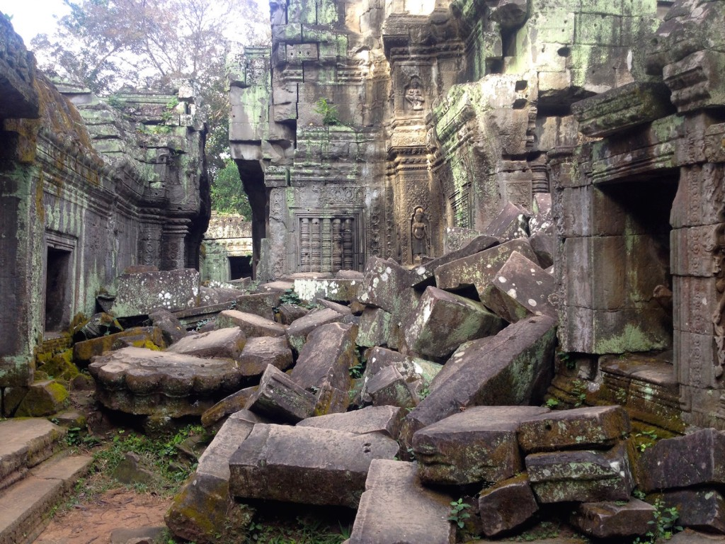Ta Prohm is Crumbling.