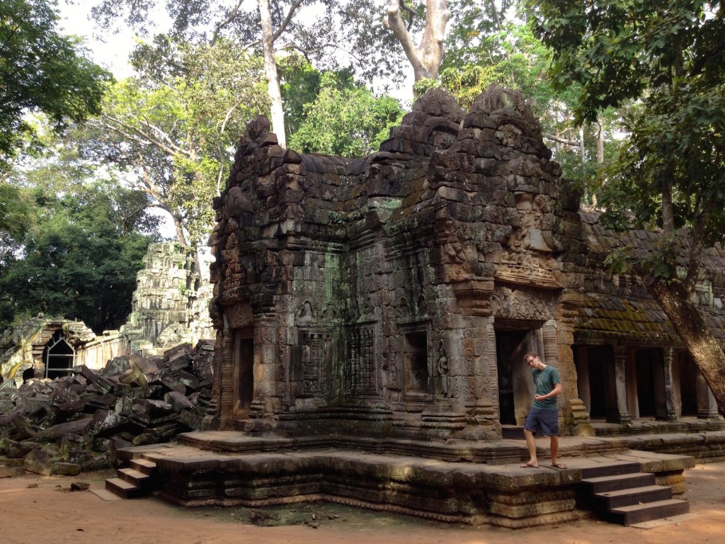 Exterior of Ta Prohm