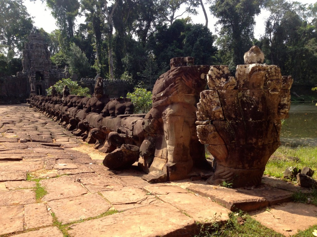 One of the bridges leading into Preah Khan.