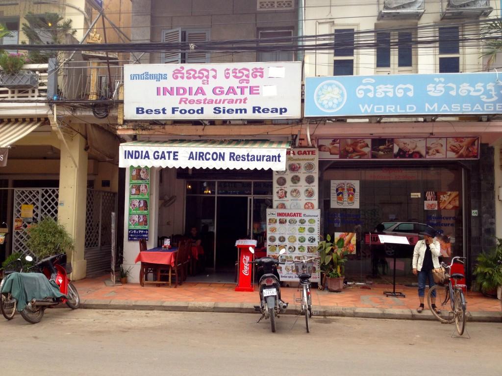 India Gate Restaurant in Siem Reap