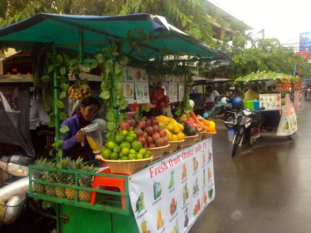 The Most Wonderful Fruit Shakes in Siem Reap