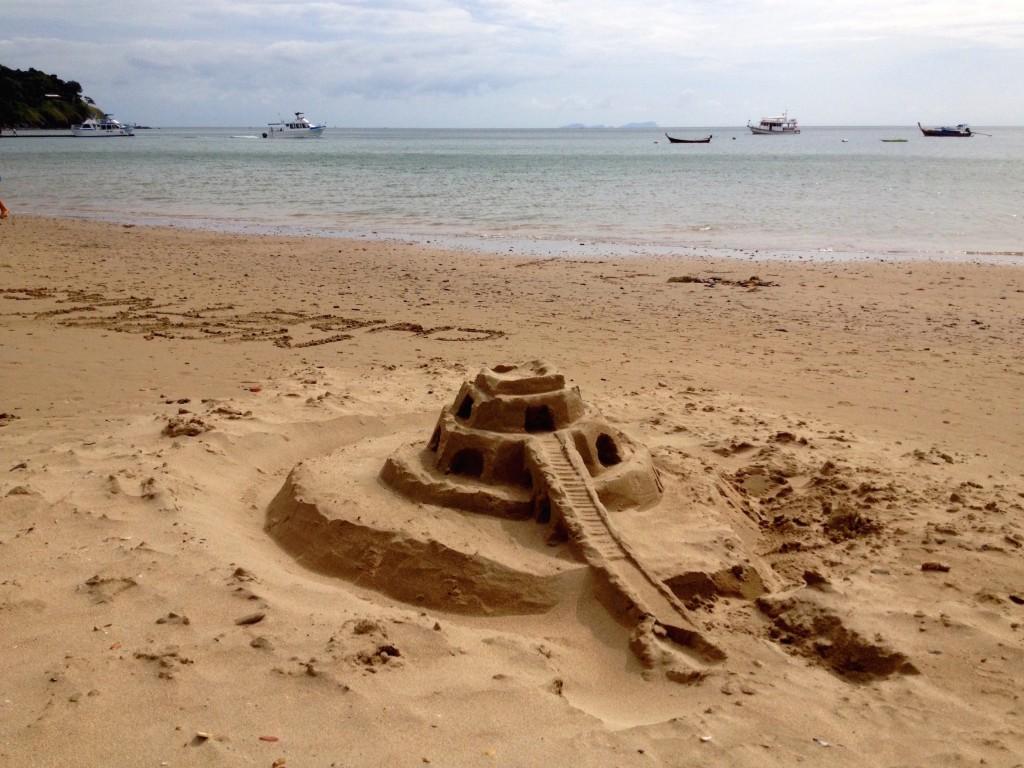 Who Built This?! The Sand Whisperer?