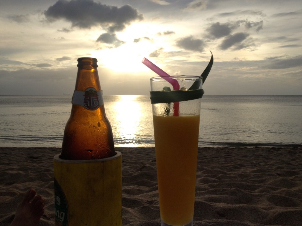 Sunset Drinks at Blue Moon Bar