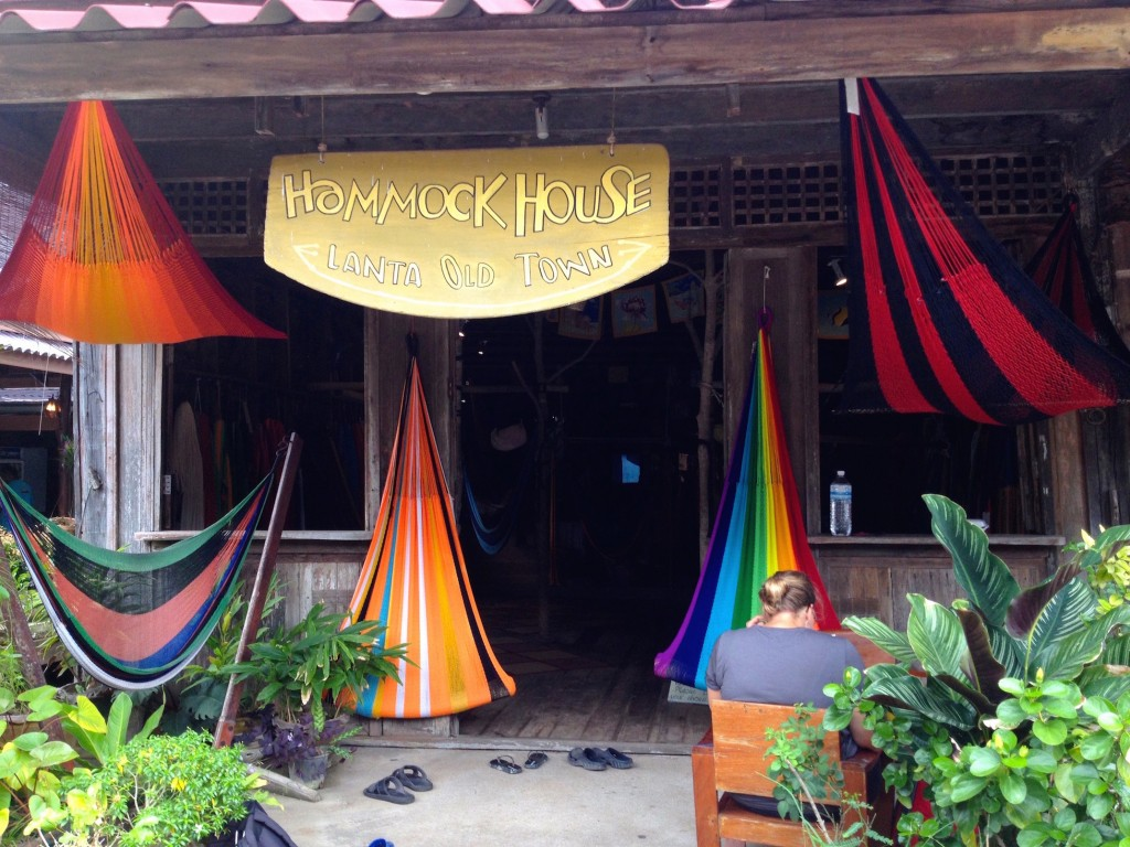 Hammock House Is in Lanta Old Town