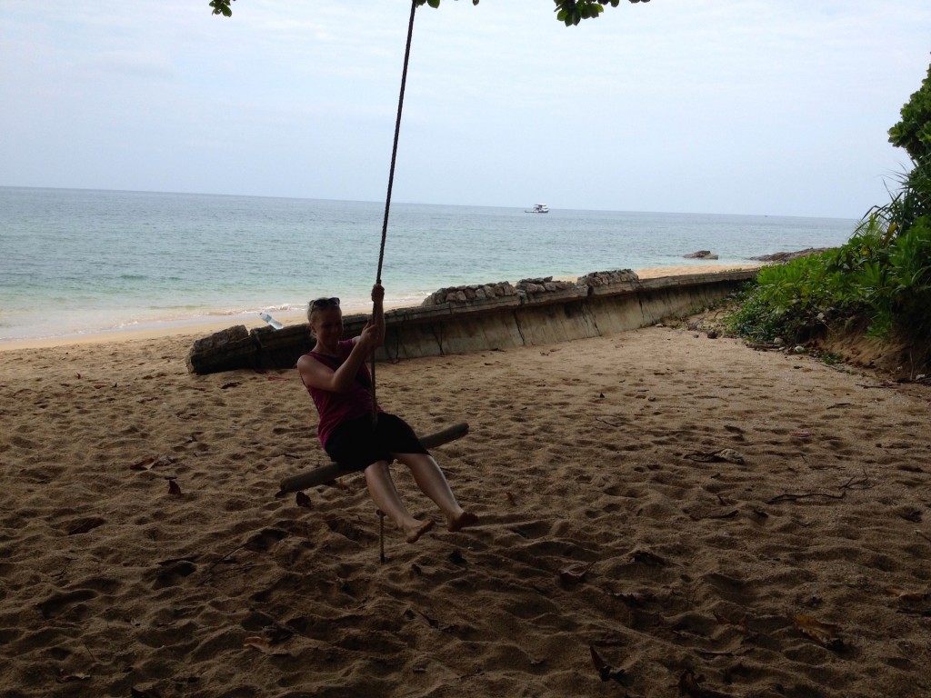 Don't Worry, Even Though Koh Lanta Hasn't Been Overdeveloped, There Is Still a Beachside Tree Swing!