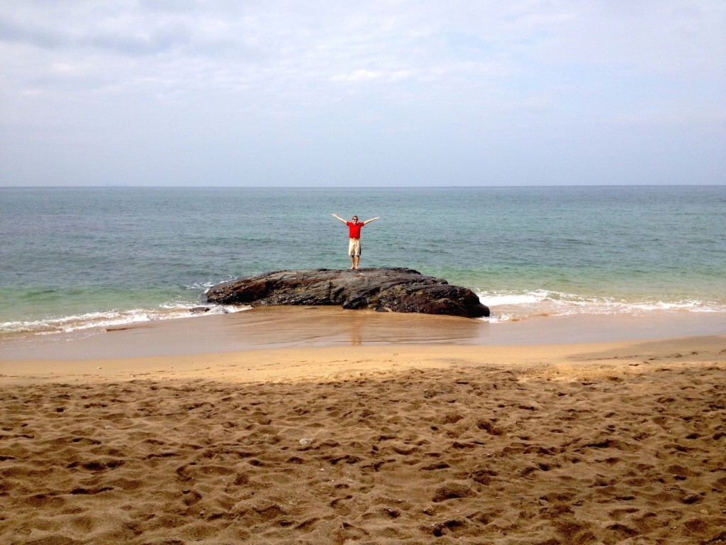 Enjoying Some Solitude in Koh Lanta.