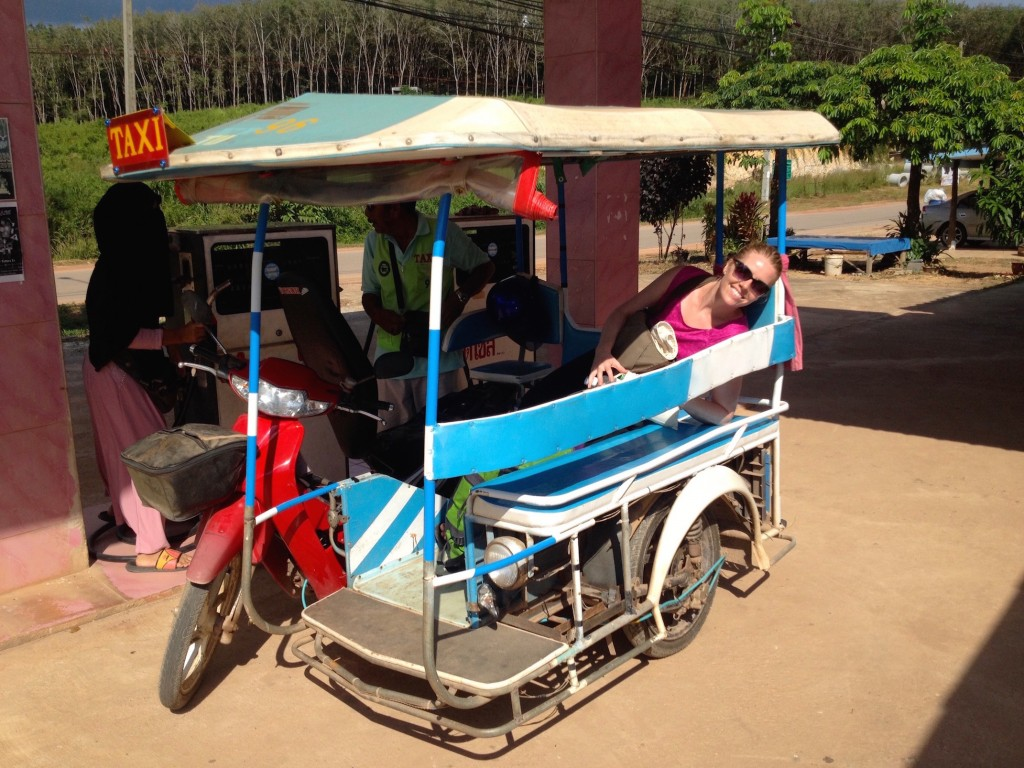 Tuk Tuks Are a Fun Way to Get around Koh Lanta, but Are Definitely More Expensive than Motorbiking.