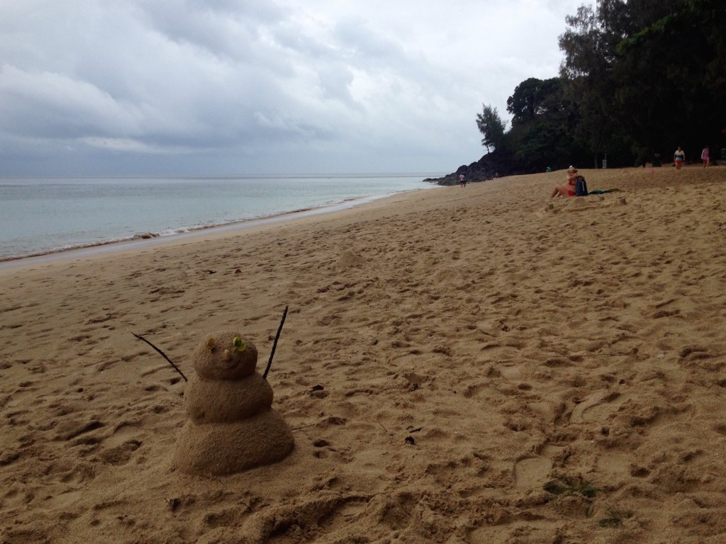 There Are Some Seriously Talented Sand Masters Lurking around Koh Lanta.