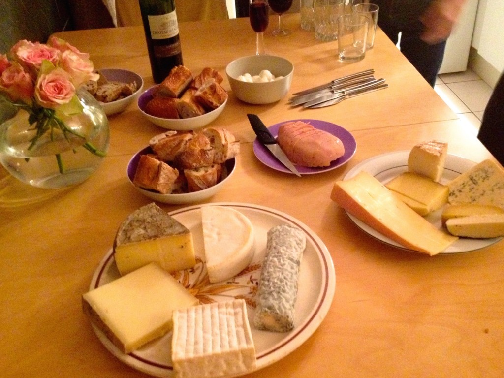 There are no less than TWELVE types of cheese in this photo. TWELVE.