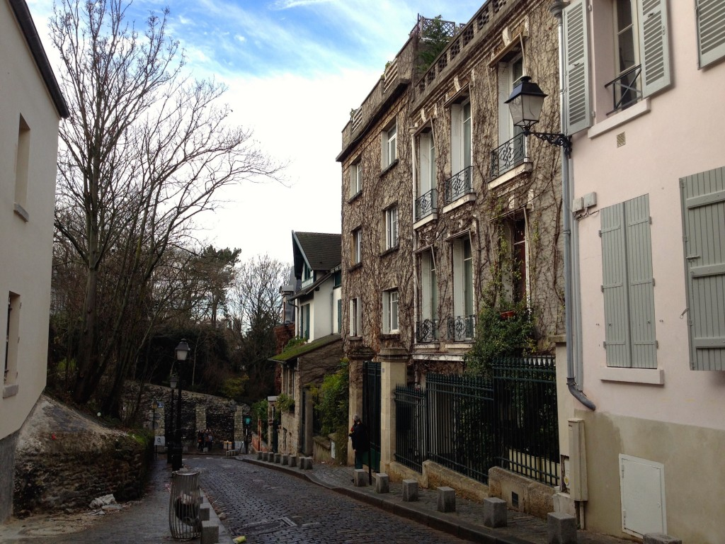 Look how cute Montmartre is! I could live here.