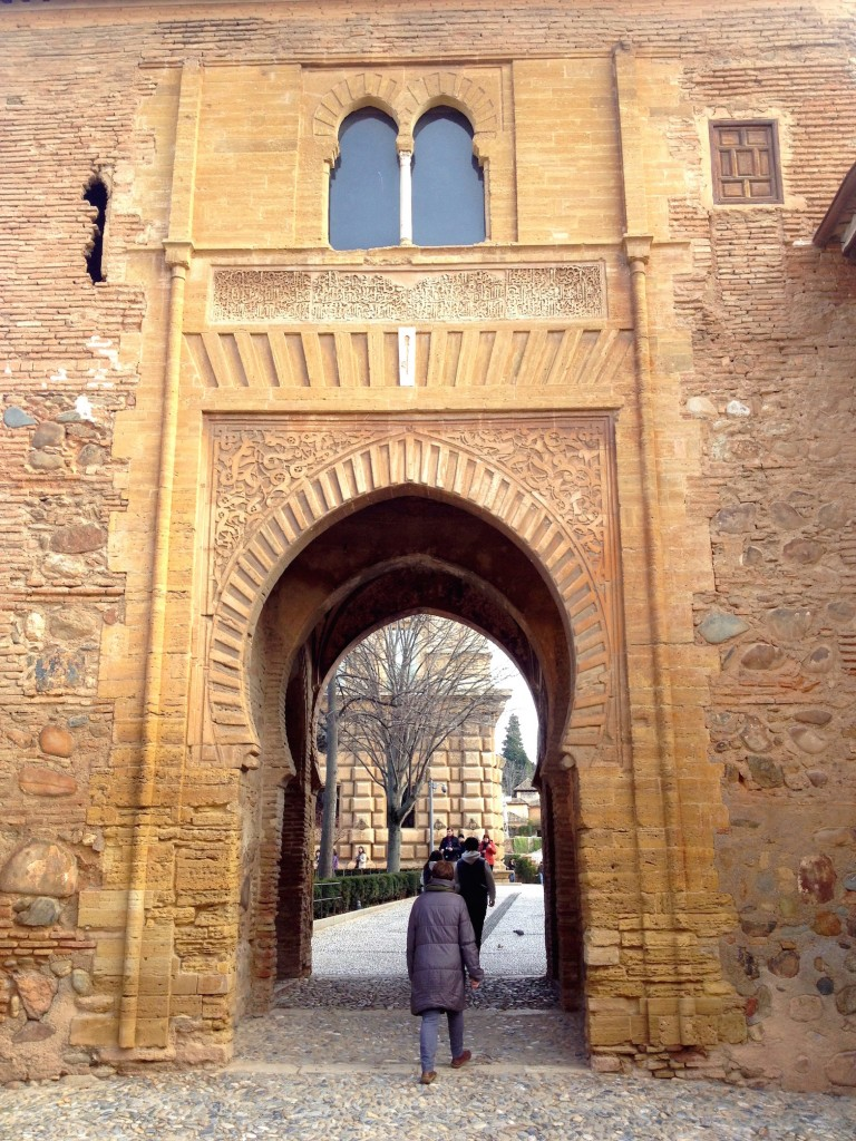 The Alhambra's Magical Wine Gate