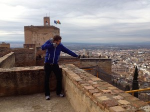 My Husband, the Archer on Top of the Alcazaba