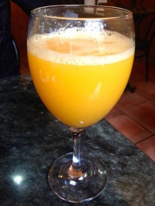Nothing beats fresh squeezed orange juice in Spain. Nothing.