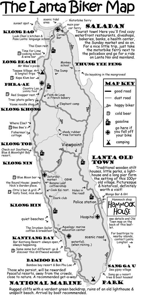 The Lanta Biker Map