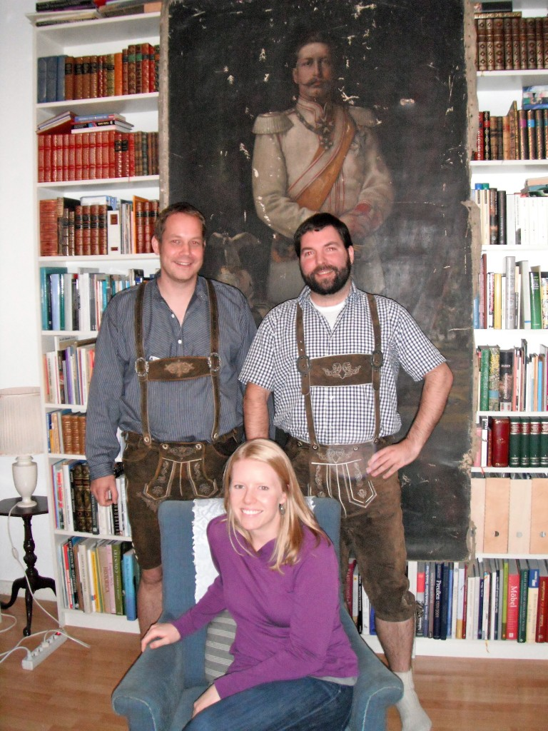 Our wonderful Airbnb Hosts from a 2012 Stay in Koblenz, Germany