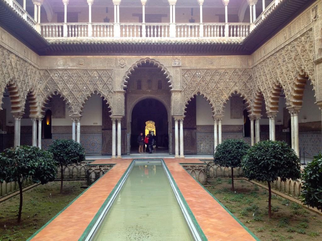 The Alcazar - LOVE this Courtyard.