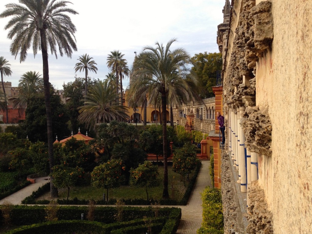 The Beautiful Alcazar Gardens!