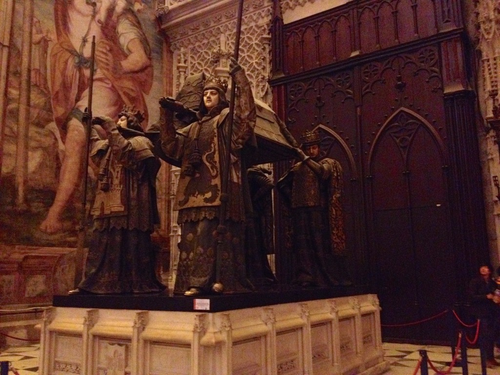 "There is ""some evidence"" that this tomb contains Christopher Columbus' remains."