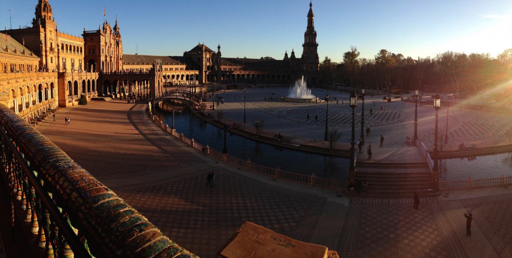Sevilla's Beautiful Plaza de España