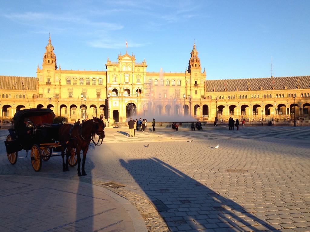 Carriage Rides at Plaza de España!