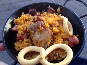 Paella #2, with pork and duck.