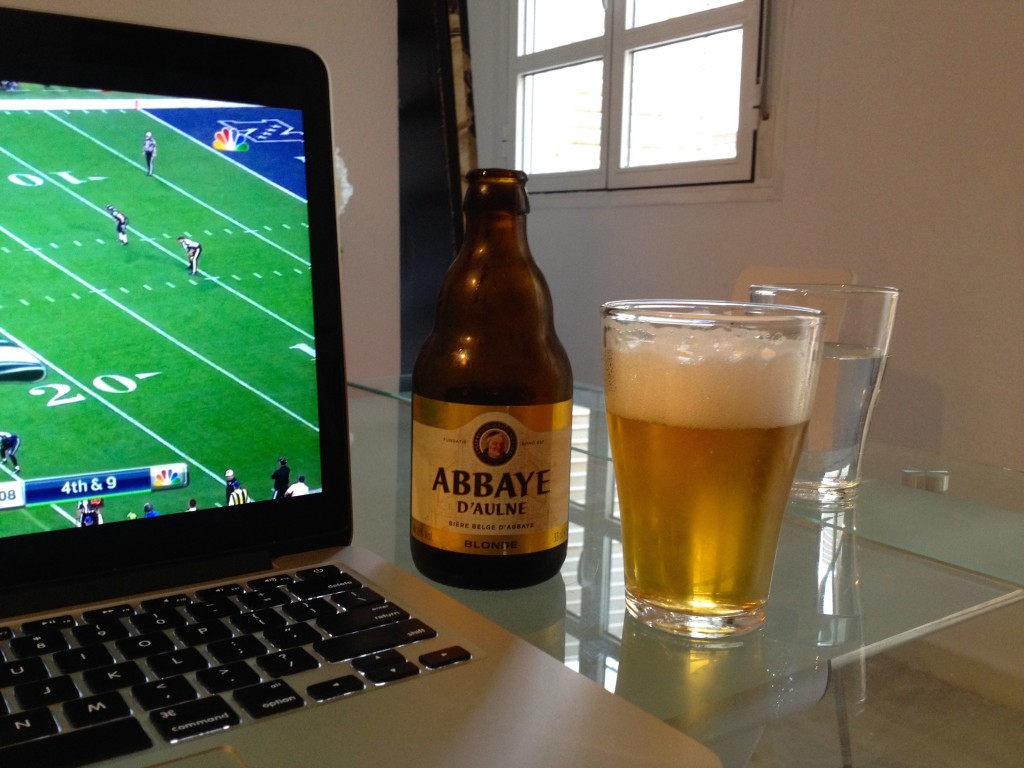 Nothing says Superbowl like 9AM beers, AMIRITE?!