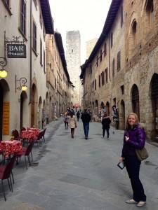 Adorable San Gimignano.